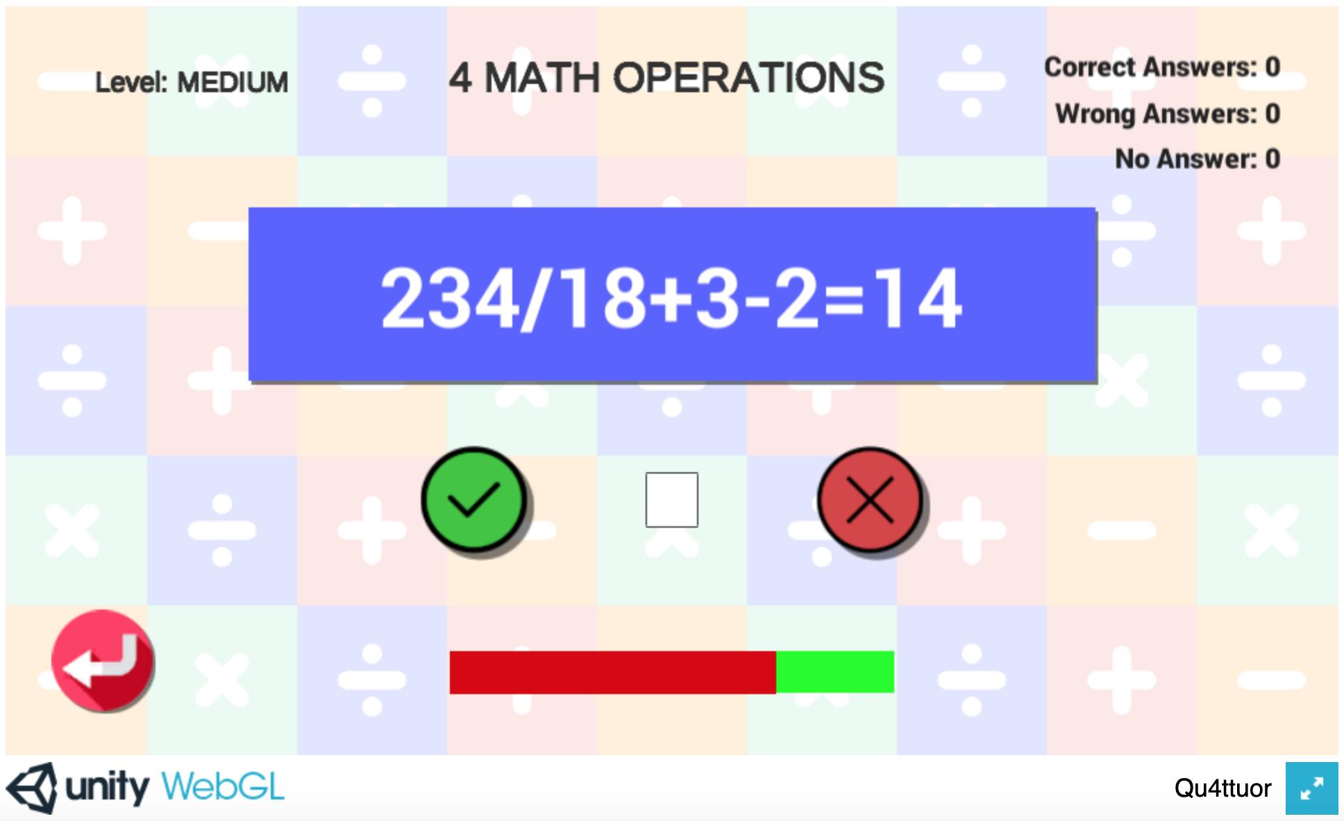 Qu4ttuor - Screenshot