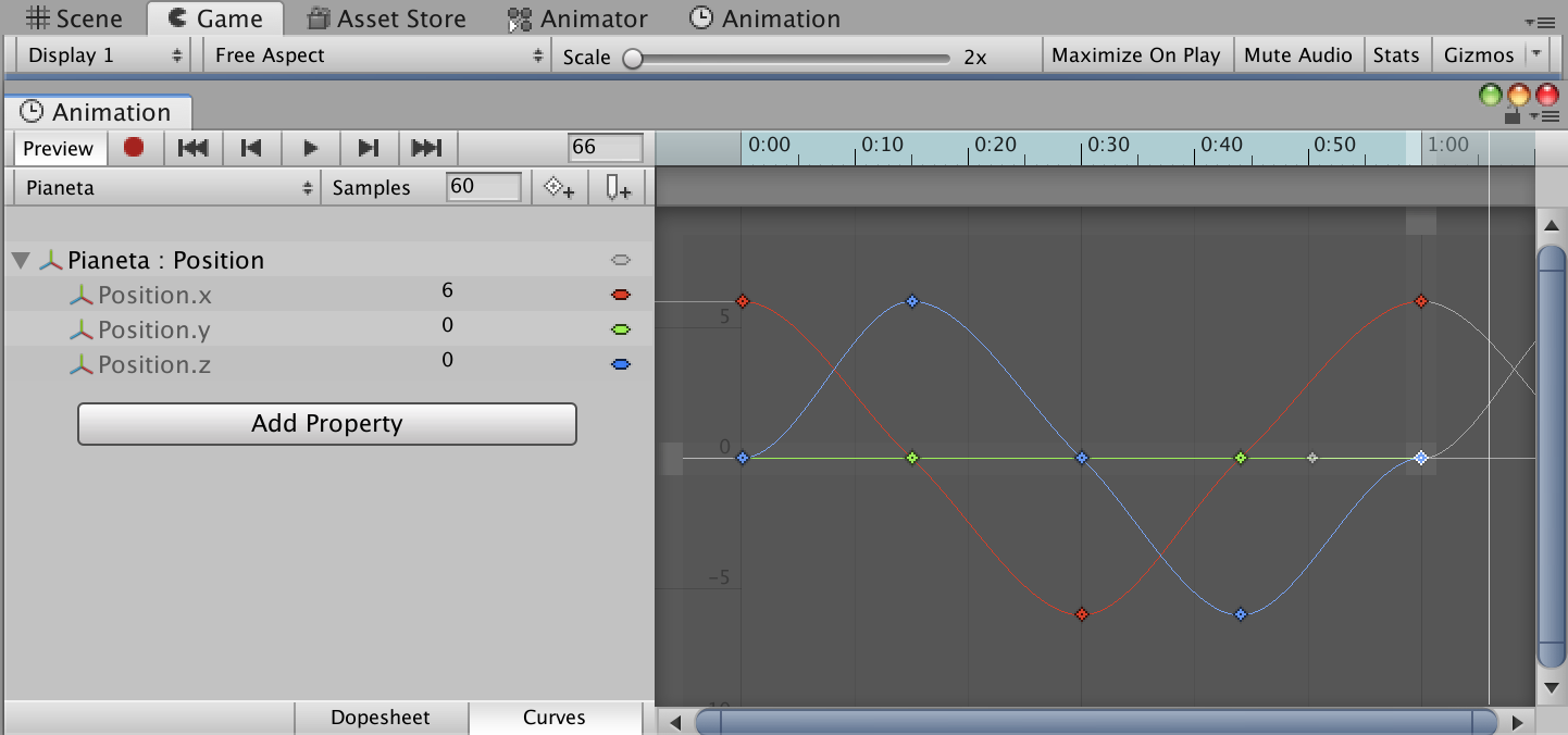 Animation Curves